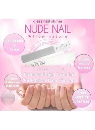 Nude Dains Nude Nail -  Cam Tırnak Parlatıcı ( Nail Shiner ) Renksiz
